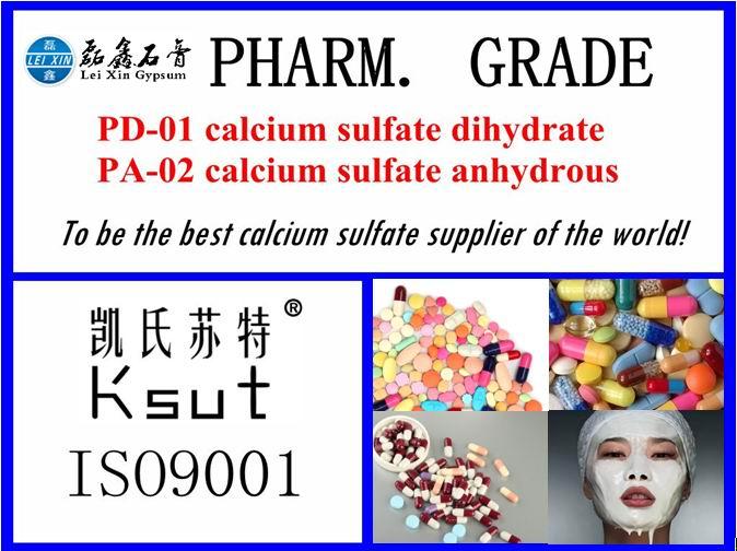 Pharm. Grade Calcium Sulfate