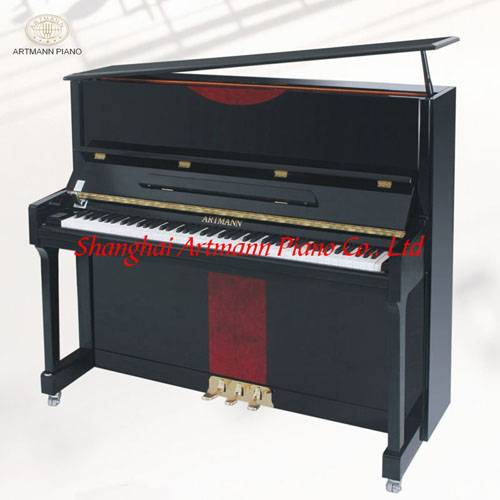 Fashionable Artmann UP-125A2 slow fall board mechanical upright piano
