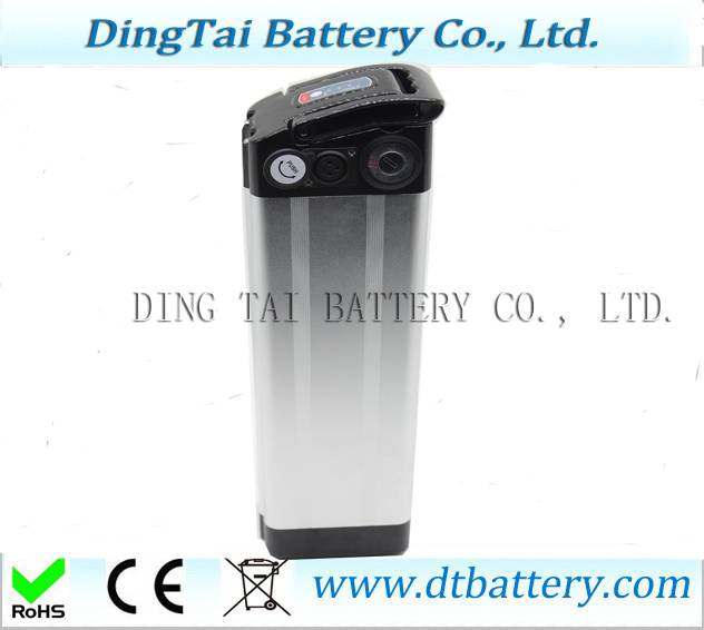 48V 17AH Longlife ebike battery 18650 battery electric bike with silver fish case ebike battery