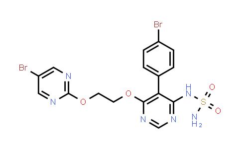 Aprocitentan/1103522-45-7/N-[5-(4-bromophenyl)-6-{2-[(5-bromopyrimidin-2-yl)oxy]ethoxy}pyrimidin-4-y