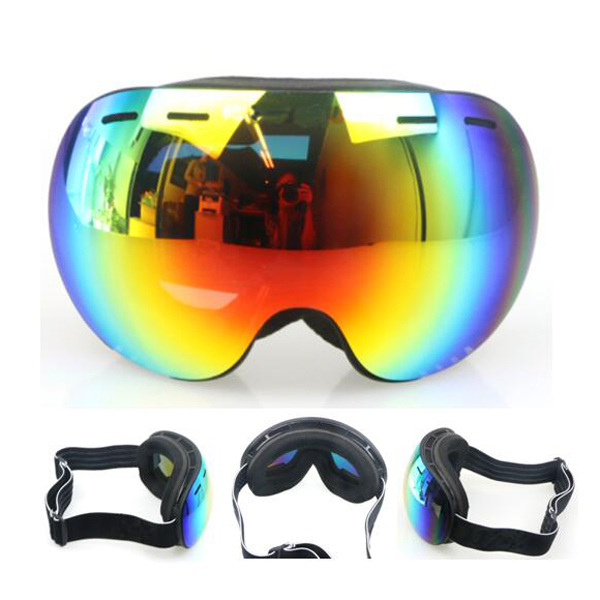 ski goggles, HLSKG113,UV400 3-layers face foam