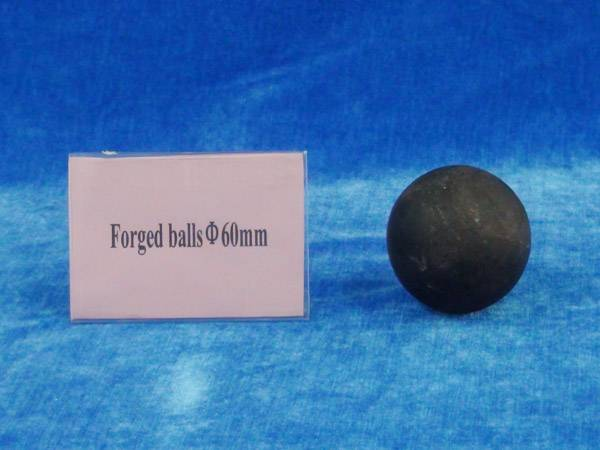 Forged grinding media ball 60mm