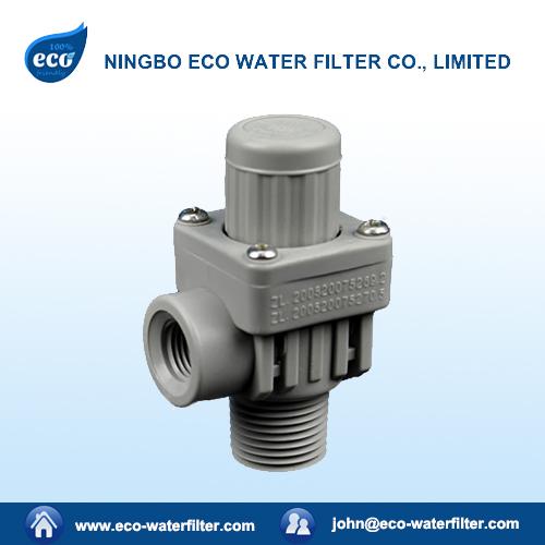 adjustable water pressure reducing valve