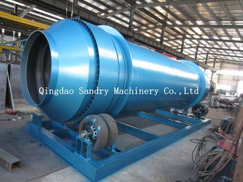 best quality cylinder sand cooling machine