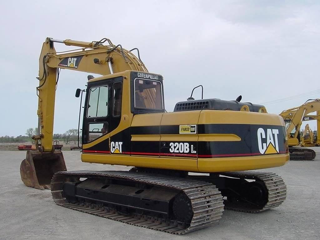 used caterpillar 320BLC excavator
