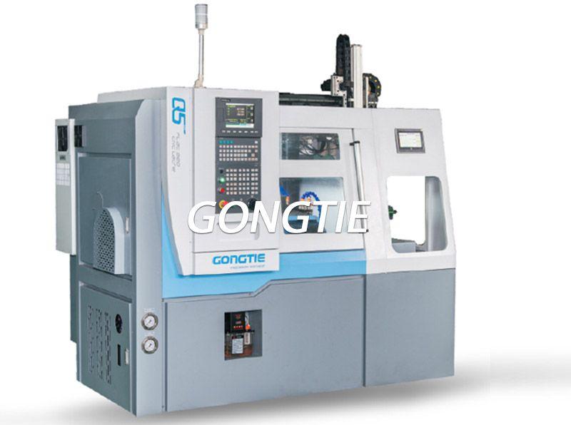 CNC lathe with gantry loader