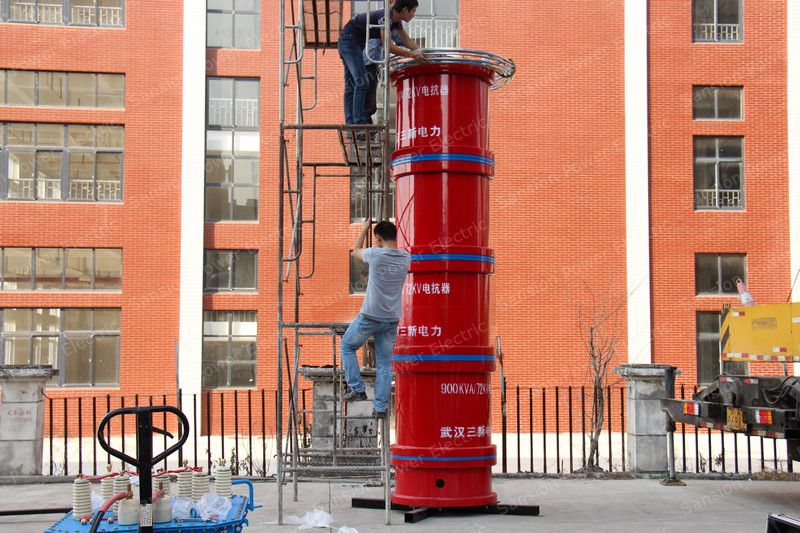 AC Resonant Test System For Busbar GIS Cable Insulator