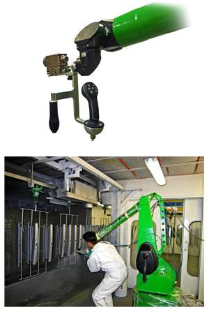 D Oriental DOT-SA13C1 Automatic Robot spraying line CMA Spray Robot with friendly esay controller an