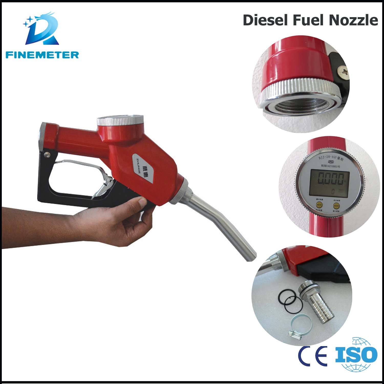 New mobile diesel petrol methanol high quality truck oil nozzle fuel gun