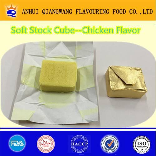 Export Soft Type Stock Chicken Stock Cubes