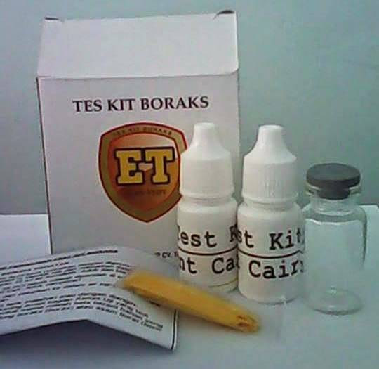 Borax Test Kit