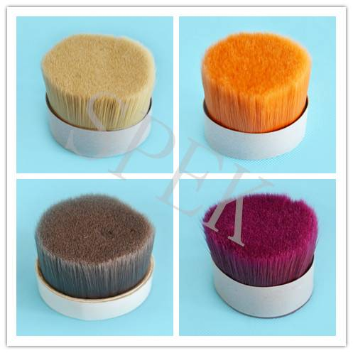 for brush high quality pet pbt synthetic tapered brush filament
