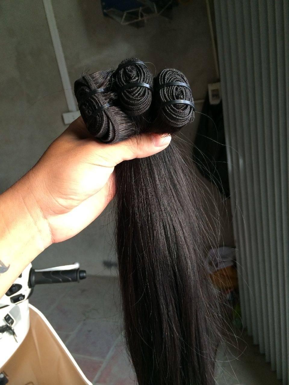 AAAAAA Original straight Vietnamese weft hair from Vietnam