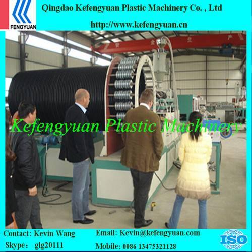 KFY large diameter winding type plastic steel PE HDPE pipe machine