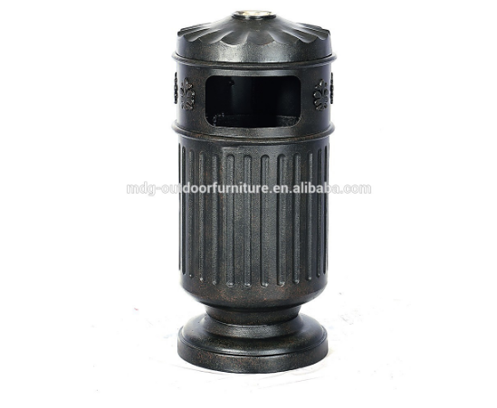 trash bottle bin cast aluminium garbage caraluminium trash bin