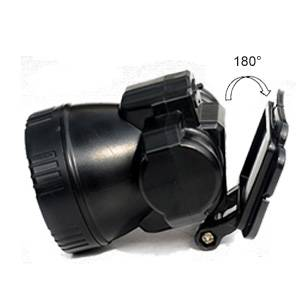 Adjustable Beam Angle LED Tactical Head Torch Battery Operation