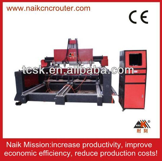 four spindle cnc machine for round wood product