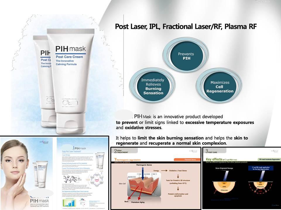 Dermatology : PIH protect MASK after Laser