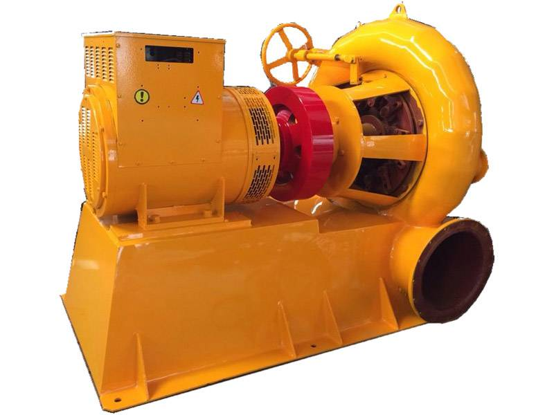 micro Francis turbine generator