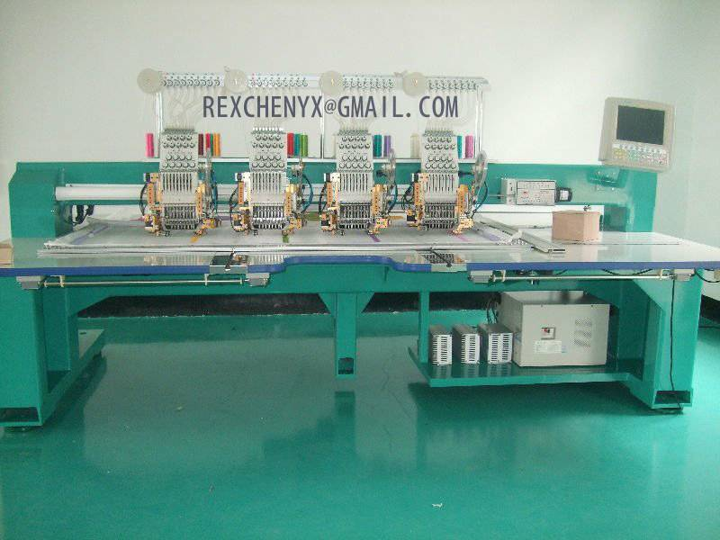 Four-Head Cording and Sequins Mixed Embroidery machine/Mixed Embrocidery Machine for sale