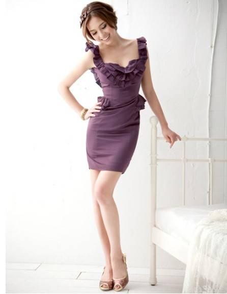 Fantastic Version Flouncing Dress,Sexy Dress,Cotton Dress