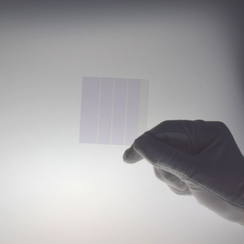 Glass etching ITO conductive glass, /fto conductive glass, /pet conductive film / laser etching