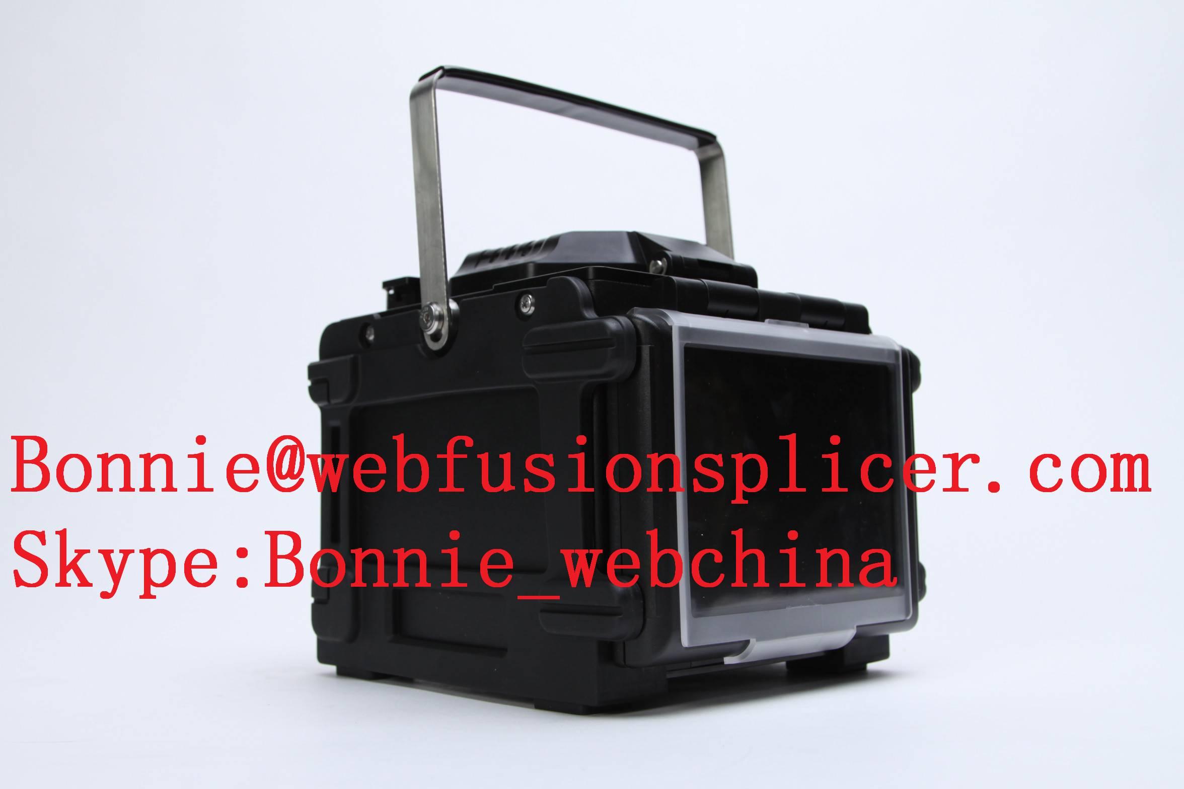 optic fiber welding machine used fusion splicer
