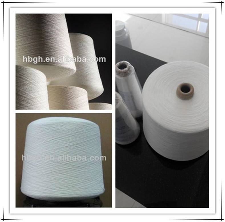 Raw white 20 degree 40s/1 pva yarn for making pva mesh