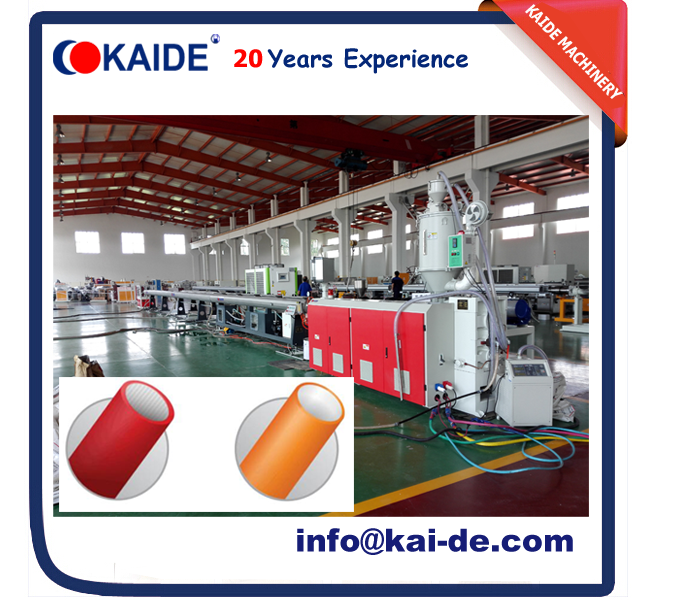 2017 KAIDE NEW HDPE silicon microduct making machine