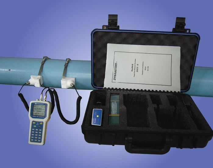 Series DMTFH Handheld Transit Time Flow Meter