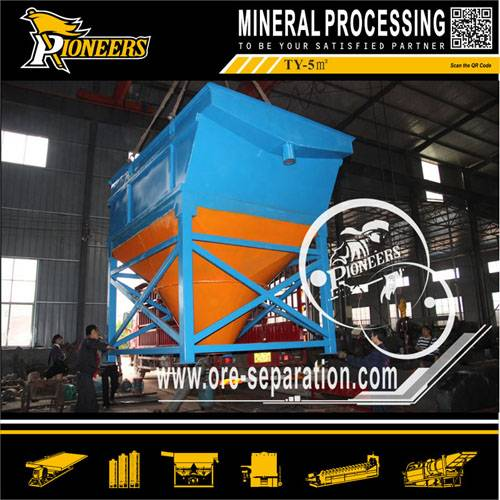 Dehydration Machine/inclined tube thickener for Mineral Tailings