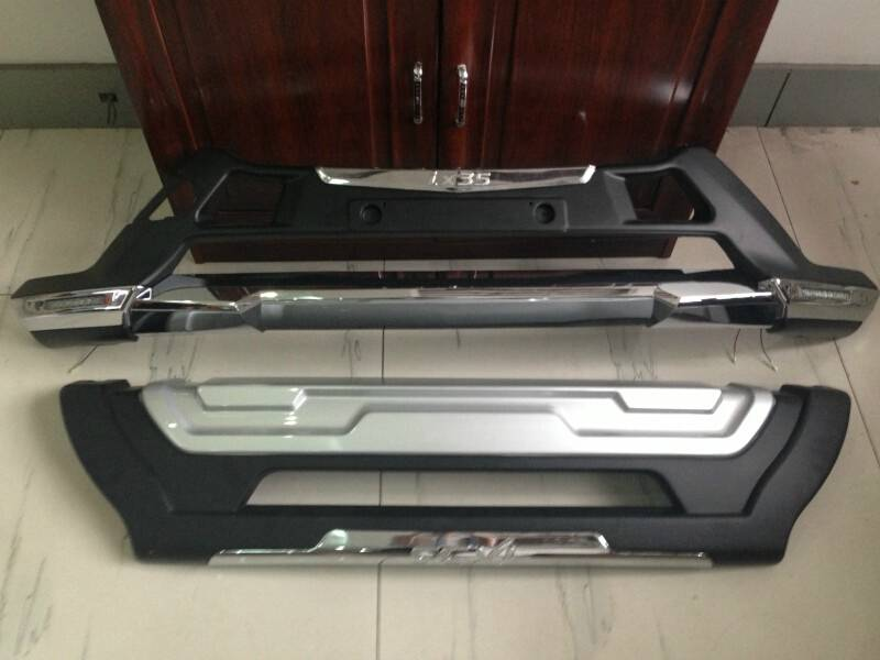13IX35 Electroplate Front Bumper & Rear Bumper With Lamp for SUV