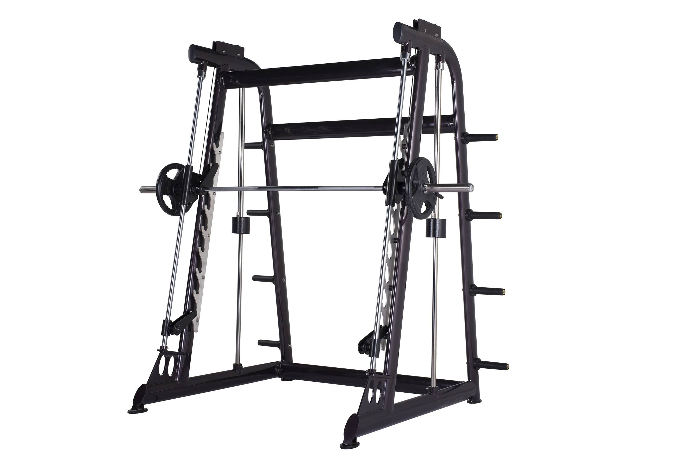 Smith machine of gym equipment for body building