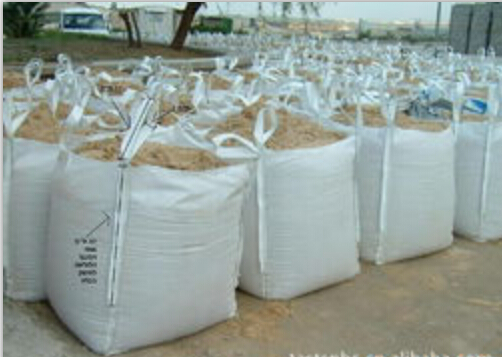 pp jumbo bag/pp big bag/ton bag for sand, fertilizer, flour , sugar,building material with best pric