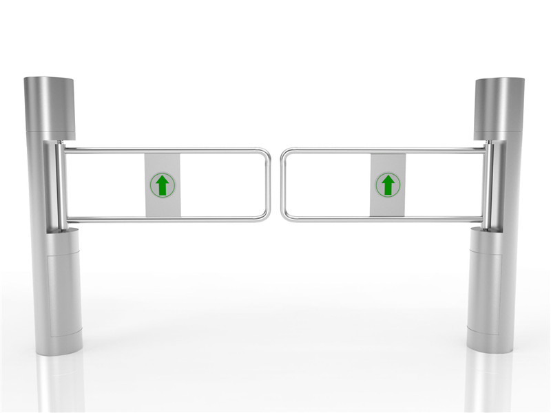 supermarket swing barrier gate turnstile