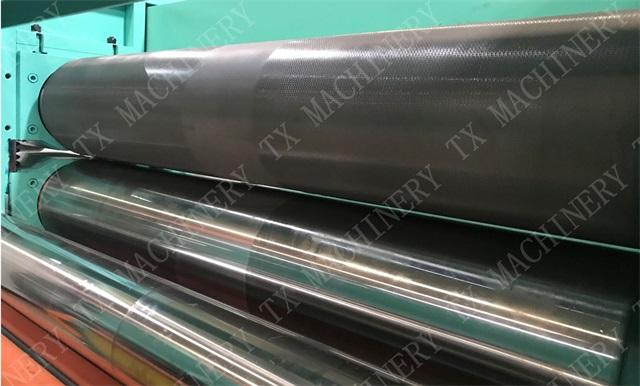 TX Hydraulic Stainless Steel Metal Embossing Line