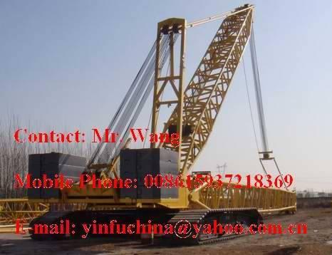 used 450t crawler Crane DEMAG CC2500