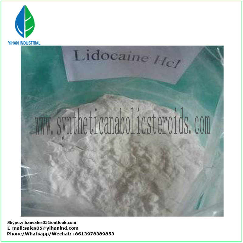 Local Anesthetic Powder Lidocaine Hcl Lidocaine Hydrochloride CAS 73-78-9 paypal Le
