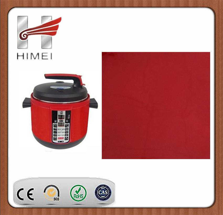 PVC film laminated sheet for electric rice cooker