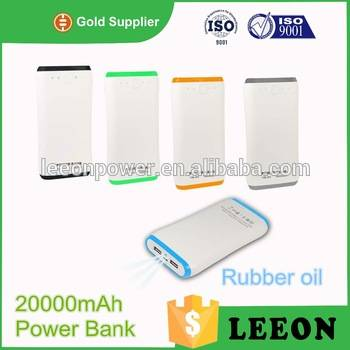 Factory supply 20000mAh external battery pack for iphone