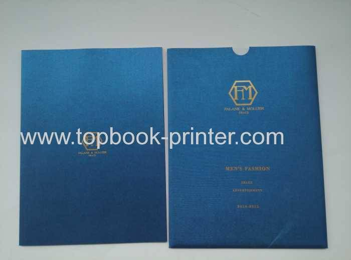 Fabric cloth cover clothing hardcase book with jacket printing