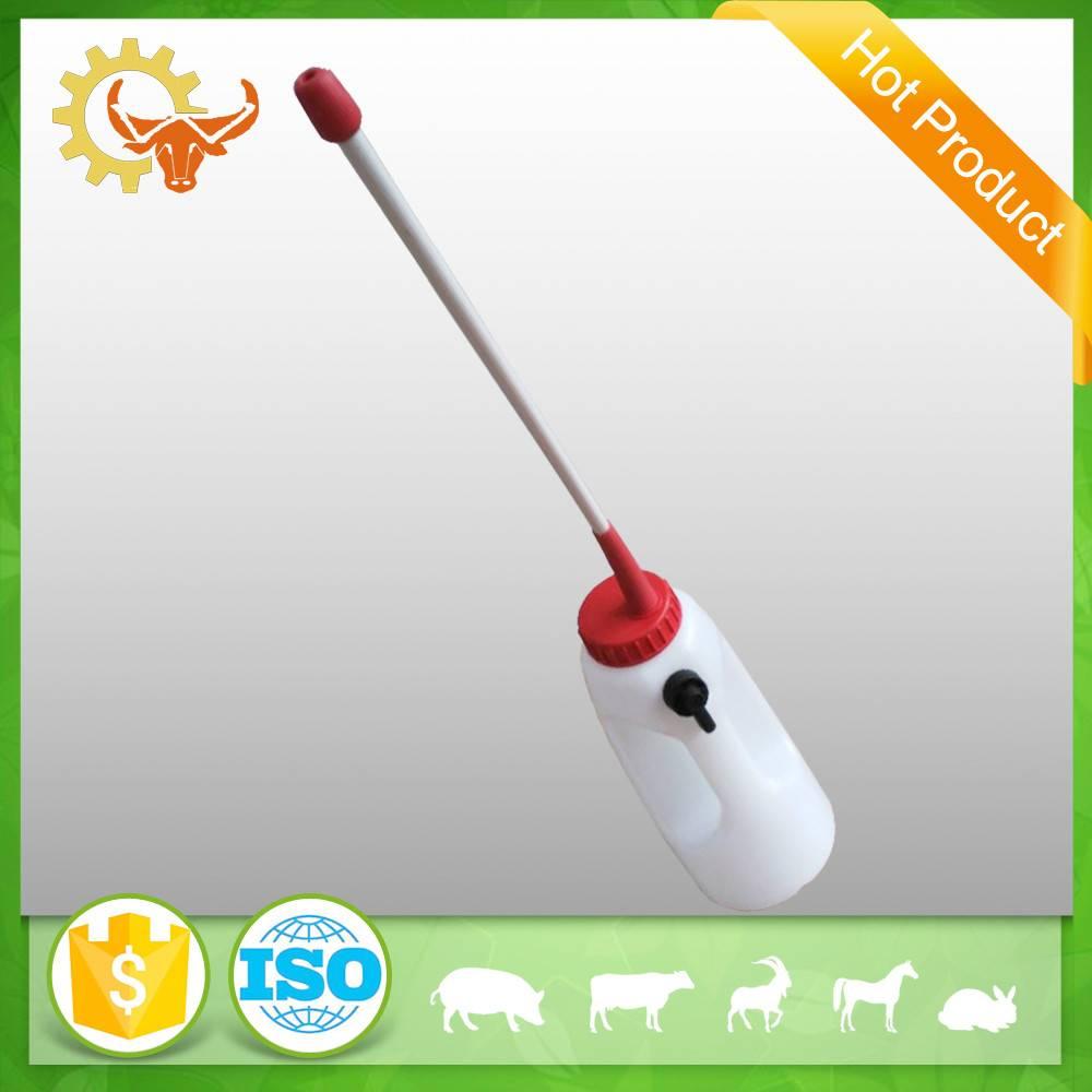 2016 high quality poultry farm livestock feeding milk bottle 4L