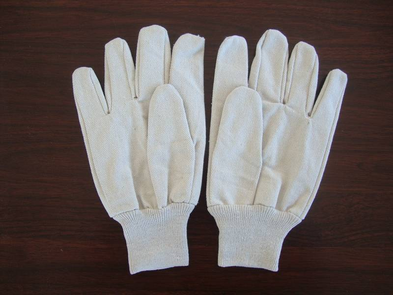 good quality best price 8oz 100%cotton canvas glove