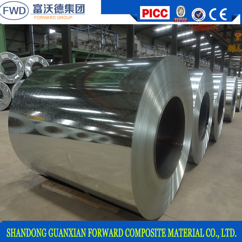 Good price for zinc coated galvanized steel sheet in coils