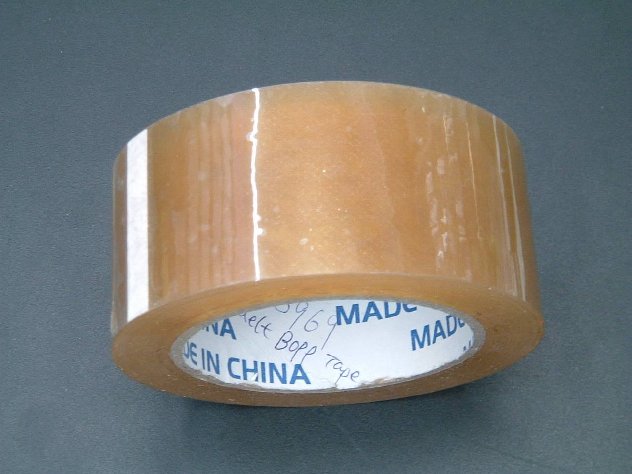 3.6mil(90mic) crystal clear Hot melt BOPP Tapes