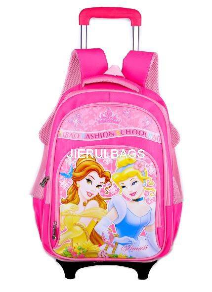 children wheeled bag