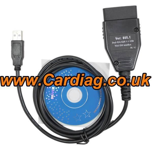 Vagcom 805.1 VAG Com CAN BUS Hex CAN