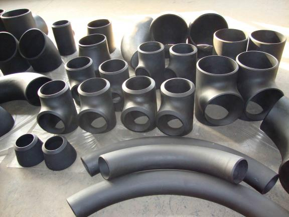 ASTM A234 WPB carbon steel pipe end