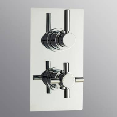 Thermostatic shower valve(thermosure cross concealed shower valve)
