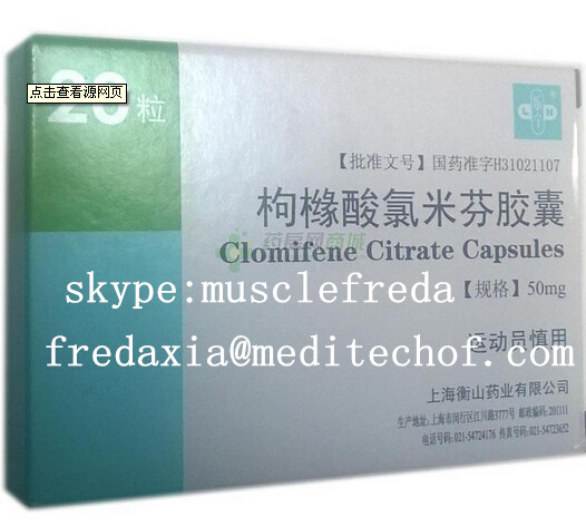 Clomifene Citrate capsules /HGH/Steroids/ Peptides/Hormone/Humantrope /hgh/Human growth